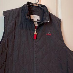 LIZ GOLF black vest with pockets XL